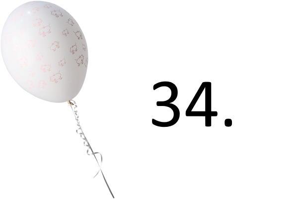 34. tjedan trudnoće