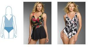 Kupaći kostimi - Izaberite kupaći kostim prema obliku tijela - Neka kupaći kostim istakne ono najbolje n vama - kakav kupaći kostim kupiti.