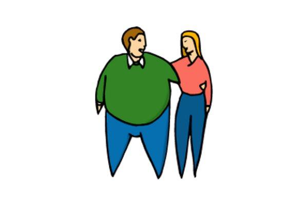 Debeli?! Je li zbog toga što previše jedete?