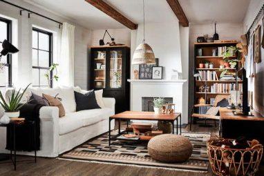 20 odličnih Ikea tepiha za dnevni boravak