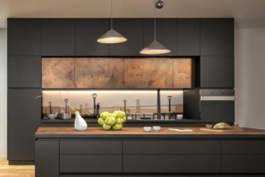 Moderne tamne kuhinje