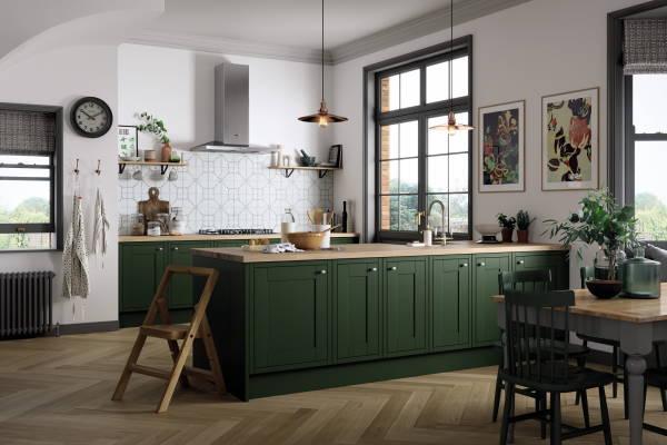 Moderne zelene kuhinje