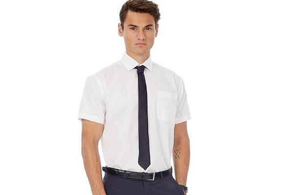 Košulja kratkih rukava i kravata?!